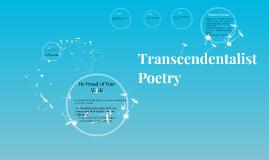 Transcendentalist   Poets