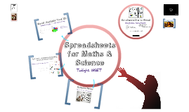 Spreadsheets for Maths & Science