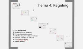 Thema 4: Regeling
