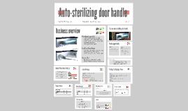 Copy of Auto-sterlizing door handle