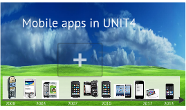 Mobile apps in UNIT4