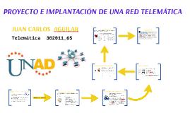 Copy of PROYECTO E IMPLANTACION DE UNA RED TELEMATICA