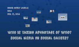 social media / English