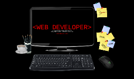 Copy of WEB DEVELOPER