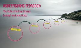Underpinning pedagogy: