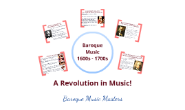 Baroque Musicians Prezi