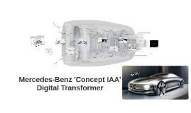 """Mercedes-Benz """"Concept IAA"""""""
