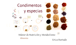 Copy of Condimentos y especias