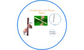 Introducción a la Flauta Dulce