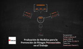 Evaluación de Medidas para la Prevención de Riesgos Psicosoc