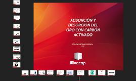 Copy of ADSORCIÓN Y DESORCIÓN DEL ORO CON CARBON ACTIVADO