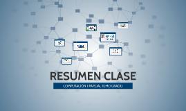 RESUMEN CLASE