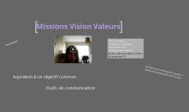 mission vision valeur