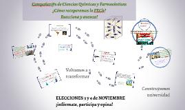 Elecciones FECh Facultad de Cs Qcas y Farmacéuticas 2014
