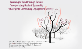Learning to Lead through Service: Incorporating Student Leadership Theory into Community Engagement