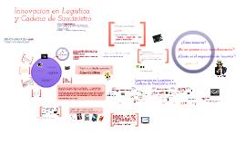 Innovación en Logística y Cadena de Suministro