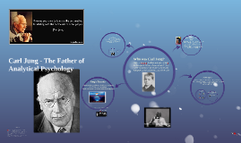 Carl Jung - The Father of Analytical Psychology