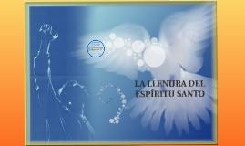 LA LLENURA DEL ESPÍRITU SANTO