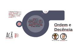 Ordem e Decência