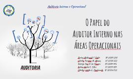 O Papel do Auditor Interno nas Áreas Operacionais