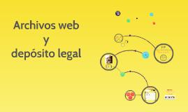 Archivos web y Depósito Legal