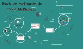 Teoría de la motivación de David McClelland