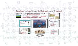 Cambios en Las Tablas de Daimiel en la 2ª mitad del S.XIX y principios del XX