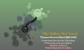 The Hollow Men (1925)