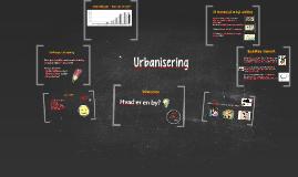 Urbanisering