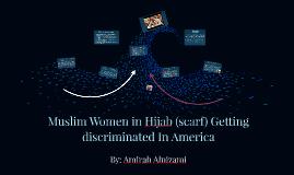 Muslim Women Getting discriminated
