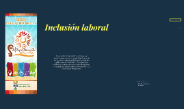 Inclusion laboral