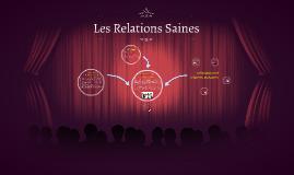 Les Relations Saines