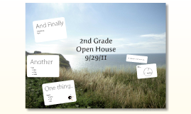 2nd Grade Open House