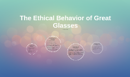 The Ethical Behavior of