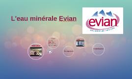 L'eau de source Evian