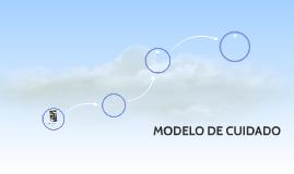 MODELO DE CUIDADO