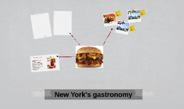 New York's gastronomy
