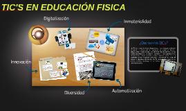 TIC's en Educación Fisica