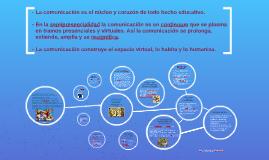 La comunicación en entornos virtuales