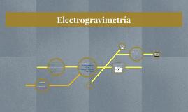 Instrumentación para electrogravimetría.