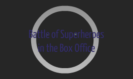 Battle of Superheroes in the Box Office