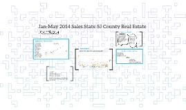 Jan-May 2014 Sales Stats: SJ County Real Estate