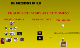 precursors to cinema