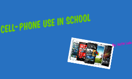 Cell-Phone Use In School