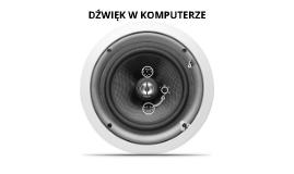 Dźwięk w komputerze