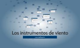 Copy of Los instrumentos de viento