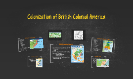 Colonization of British Colonial America