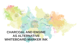 CHARCOAL AND ENGINE AS ALTERNATIVE WHITEBOARD MARKER INK