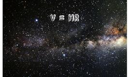 V = HR