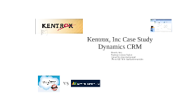 CRM Kentrox case study